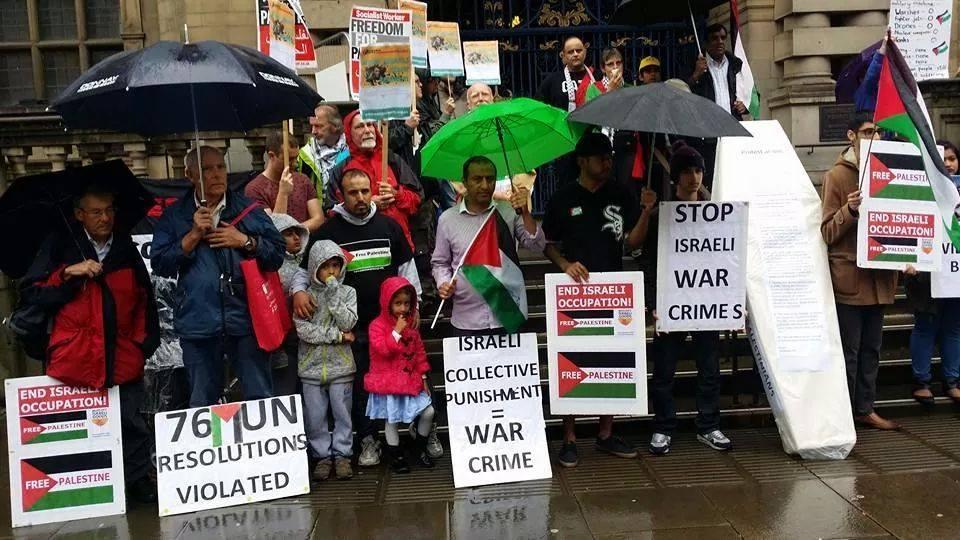 2مظاهرات في بريطانيا