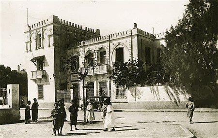 البناء موجه لمدرسة سيدي زيان