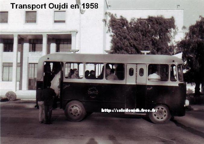 حافلة سنة 1958وجدة
