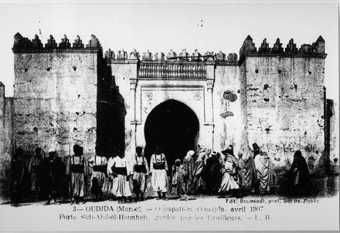 1907 باب سيدي عبد الوهاب