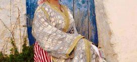 اللّباسُ التّقليديّ للمرأة في شمال المغرب.